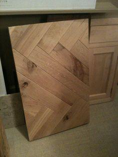 herringbone wood table pattern