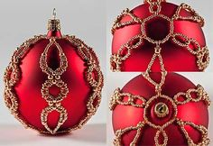 Ornament with Seed Beads - Fire Mountain Gems and Beads