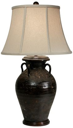 Superior Olivaris Brown Tuscan Table Lamp By The Natural Light