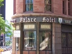 Brown Palace Ghost - The Brown Palace Hotel is a 241-room luxury hotel in Denver that features six restaurants, a spa and a lobby with live music. This historic hotel is one of the oldest in the state and is considered by some to be haunted. This photo is proof.