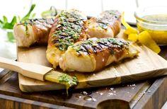 Grillad kycklingfilé Saltimbocca
