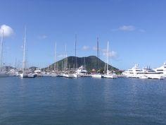 Rodney Bay Marina in St. Lucia