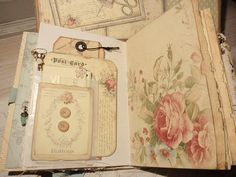 Journal Sewing Kit I ❤️ this idea for my vintage assemblage creations!