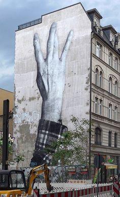 by JR in Berlin (LP)