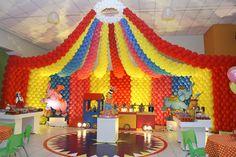 Decoração+de+Festa+Infantil+Tema+Circo