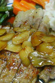豚肉ステーキ pork steak