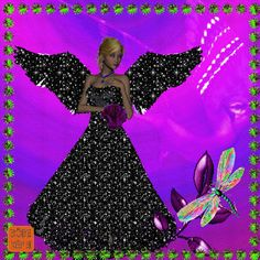 The perfect Jóéjszakát BlackDress BlackWings Animated GIF for your conversation. Discover and Share the best GIFs on Tenor. Beautiful Gif, Beautiful Fairies, Good Morning Christmas, Angle Pictures, Fairy Wallpaper, Love You Gif, Angel Images, Angels Among Us, Glitter Graphics