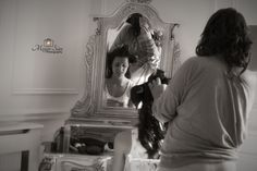 Bride preparing for her big day