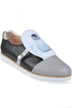 """Sneakers piele naturala """"Baby Penguin"""" Baby Penguins, Mary Janes, Flats, Skinny, Sport, Sneakers, Fashion, Loafers & Slip Ons, Tennis"""