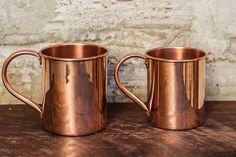 Beam & Anchor Copper Mugs