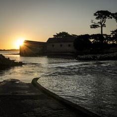 Passage Berder - http://www.sebastiencaverne.fr/passage-berder/ #Berder, #GolfeDuMorbihan, #Marée, #Soleil, #Visitgolfe