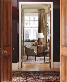 London Apartment, Entrance Hall, Great Rooms, Interior Inspiration, Flooring, Antiques, House Styles, Furniture, Roger Jones