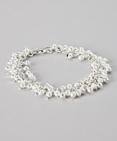 Take a look at this Silver Julie Bracelet on zulily today!