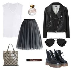 """""""Untitled #75"""" by jemimatumw on Polyvore featuring 3.1 Phillip Lim, T By Alexander Wang, Chicwish, Acne Studios, Bao Bao by Issey Miyake, NYX, Tocca and jmctpolyvore"""