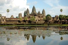 Templos de Angkor (Siglos IX al XV). Siem Riep, Camboya.