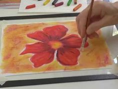 ▶ Using Inktense on Fabric - Part 1 - with Deborah Wirsu - YouTube Pinned from Art Quilts 101 on Facebook