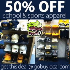 Get 50% OFF ‪#‎RiverFalls‬ school & sports ‪#‎apparel‬ with this ‪#‎deal‬ at Imaging World Promotional - show your ‪#‎school‬ spirit and save! ‪#‎buylocal‬ http://gobuylocal.com/offerseo/River_Falls-WI/Imaging_World/2342/501