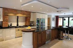 Bespoke-handmade-oak-walnut-and-primed-for-painting-fitted-kitchen-custom-built | eBay