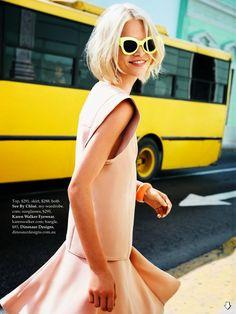 BLOCK PARTY ELLE Australia, November 2013 ph. Ben Watts fashion editor: Nicole Bonython-Hines