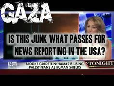 No wonder #USA citizens have no understanding of the world if this is the junk news they are fed (#gaza #middleeast #israel #foxnews)