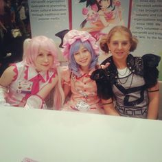 More Lolitas we got to meet at Anime Expo 2012