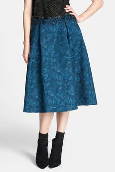 I really like the color and texture of this skirt.
