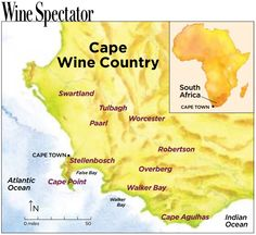 South Africa's Cape Wine Regions