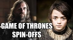 Game of Thrones Spin-Offs - The Game of Thrones cast reveal why Arya & The Hound, Bronn, Tyrion, Podrick, Walder Frey, Dontos, The Night's Watch and Davos & Melisandre should all have their own Game of Thrones spin-off shows. Check out what they think about a Game of Thrones reality TV show.