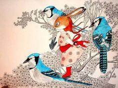 UNAI ZOCO # Blue Jay and Bunny Patrol