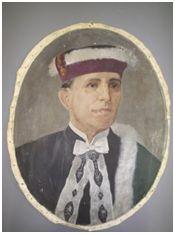 Sem Título, 1956. Óleo sobre tela, 46 x 58 cm. Autora: Antonieta Santos Feio.