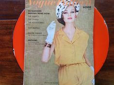 Vintage Vogue Pattern Book April May 1962 Easter Parade Paisley, Vintage Vogue Patterns, Easter Parade, Red Silk, Pattern Books, Lady, Personal Style, Photos, Words