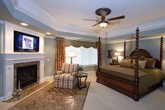 The Arreton Manor Luxury Home has 4 bedrooms, 4 full baths and 2 half baths.