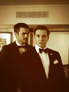 Downton Abbey :: Rob James-Collier & Allen Leech