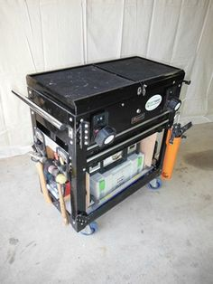 Incredible Tricked Out Tool Cart - Tools of the Trade