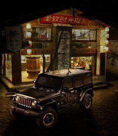 "Jeep® Wrangler ""Dragon"" Design Concept debuts at 2012 Beijing Auto Show"