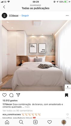 Bedroom Closet Decor Color Schemes New Ideas Fitted Bedroom Furniture, Home Decor Furniture, Home Decor Bedroom, Apartment Interior, Apartment Design, Bedroom Apartment, Small House Interior Design, Small Bedroom Designs, Bedroom Closet Design