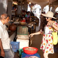 A short visit to the market is what one can do to bask in the true nature of Goa
