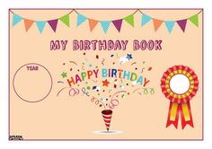 My Birthday Book – Splash Resources Birthday Book, Happy Birthday, Anzac Day, New Zealand, Promotion, Books, Products, Happy Brithday, Libros