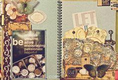#SMASH #book #journal #art #DIY #paint #scrapbooking #handmade #craft #album