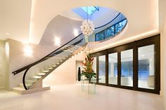 Courtenay Avenue House, London by Harrison Varma   -    What a staircase!