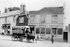 The Five Bells Ringwould, Kent, England 1927 Dover Kent, Kent England, Old Photographs, Nostalgia, Board, Old Photos, Planks, Old Pictures
