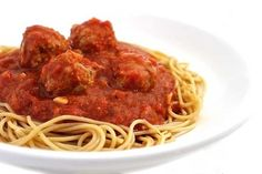 These NEW meatballs and homemade sauce are AMAZING.So flavorful! They'll be a hit with both the adults and the kids. Each serving includes 4 small meatballs, 1 cup of sauce and has 267 calories, 10 gram fat and 7 Weight Watchers P Skinny Recipes, Ww Recipes, Light Recipes, Crockpot Recipes, Cooking Recipes, Crockpot Meat, Freezer Recipes, Healthy Recipes, Quick Recipes