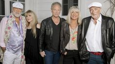 The rumours are true - Fleetwood Mac are back: (left to right) Mick Fleetwood, Stevie Nicks, Lindsey Buckingham, Christine McVie and John McVie.