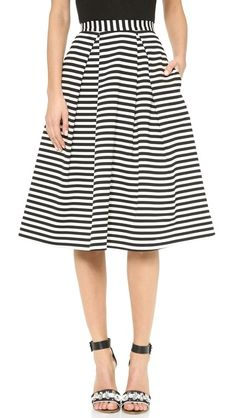 striped ball gown skirt | buy it: http://rstyle.me/n/nf87msque
