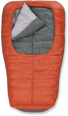 Sierra Designs Backcountry Bed Duo 600 Sleeping Bag Down Red Clay