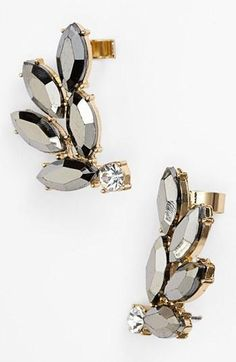 Gorgeous statement cuff earrings!! Get 5% cash back: http://www.studentrate.com/lakeforest/get-lakeforest-student-deals/Nordstrom-Student-Discounts--/0