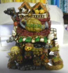 Spooky Hollow Porcelain Halloween Nursery | eBay