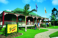 The Bundaberg Rum distillery is open to visitors for tours of the facility. There is also a museum which offers free samples of Bundaberg Rum products for visitors.