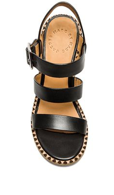Shop for Marc by Marc Jacobs Vacchetta Sandal in Black at REVOLVE. Free 2-3 day shipping and returns, 30 day price match guarantee.