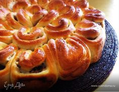 """Have to translate - Meat pie """"Chrysanthemum"""" Xmas Food, Russian Recipes, Meat Recipes, Food Pictures, Family Meals, Delish, Dessert Recipes, Appetizers, Bread Recipes"""